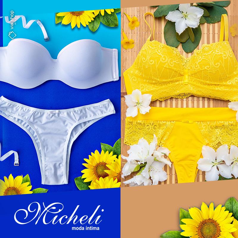 a0ab22abe Micheli Moda Íntima - Loja Virtual